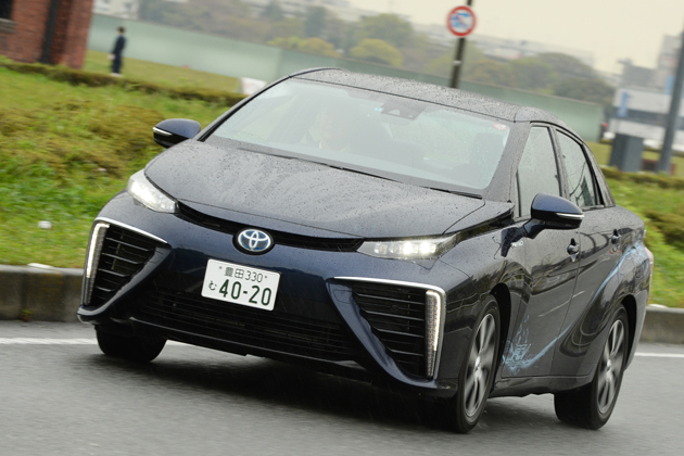 トヨタ MIRAI(ミライ)公道試乗レポート/国沢光宏
