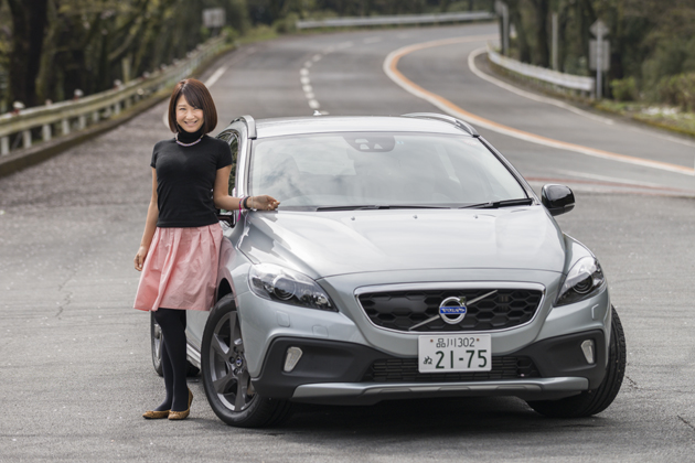 ボルボ V40 CROSS COUNTRY T5 AWD[2015年モデル/Drive-E] 試乗レポート/今井優杏