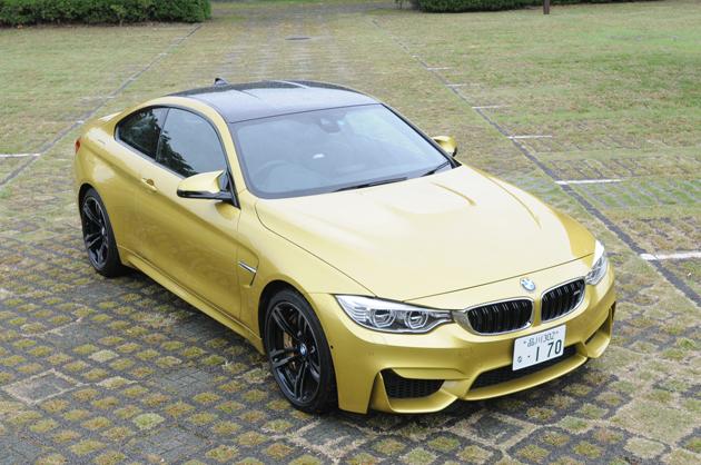 BMW 新型 M4クーペ[ボディカラー:オースチン・イエロー]