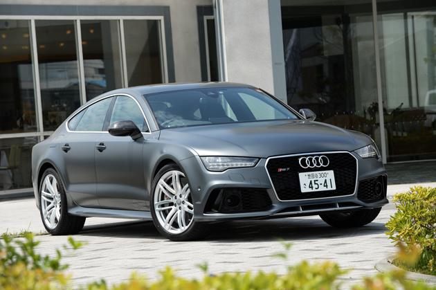 アウディ RS7スポーツバック(Audi RS7 Sportback)[2015年マイナーチェンジモデル] 試乗レポート/森口将之