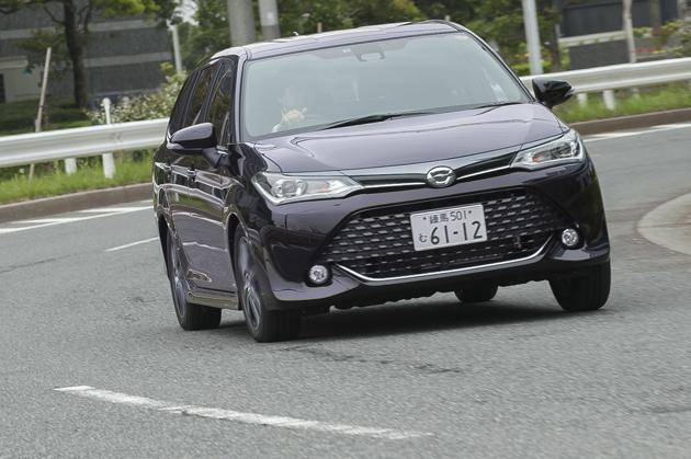 トヨタ 新型 カローラフィールダー・カローラアクシオ[2015年マイナーチェンジ] 試乗レポート/渡辺陽一郎