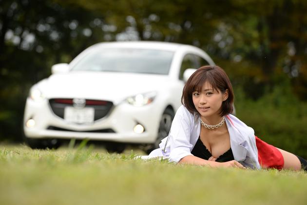 【女医】 安枝瞳の新型車診察しちゃうぞ!~マツダ デミオ SKYACTIV-D 1.5編~