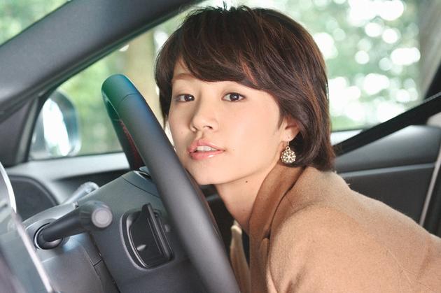 【ドライブ美人】クライスラー イプシロン/池田嘩百哩