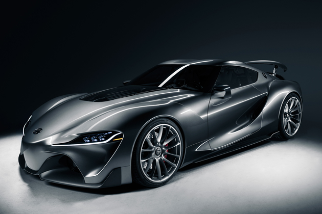 トヨタ 次期「スープラ」の新型スポーツコンセプト「FT-1」