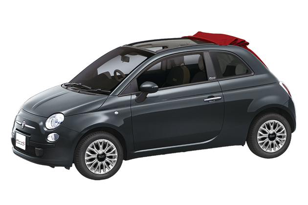 赤い屋根の特別仕様車「フィアット 500C Tetto Rosso(テットロッソ)」限定発売