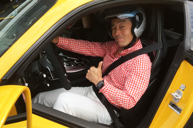メルセデスAMG GT サーキット試乗レポート/河口まなぶ