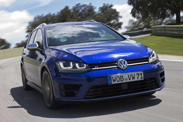 VW ゴルフRヴァリアント 海外試乗レポート/竹岡圭