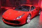 フェラーリ、ターボ搭載の新型スーパーカー「488GTB」日本初披露 ~価格は3,070万円~