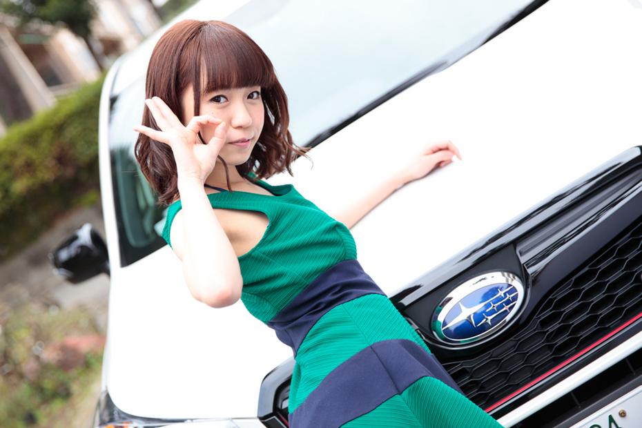 スバル フォレスターtS×青木ゆり亜【ドライブ美人】