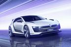 VW ゴルフ 400馬力のPHVスポーツカー『GTE スポーツコンセプト』が登場