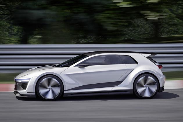 VW ゴルフGTEスポーツ・コンセプト