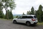 スバル エクシーガ CROSSOVER7(クロスオーバーセブン)[AWD/ボディカラー:クリスタルホワイト・パール(特別色)/内装色:タン/ブラック・ブルーグリーンステッチ] 試乗レポート/国沢光宏