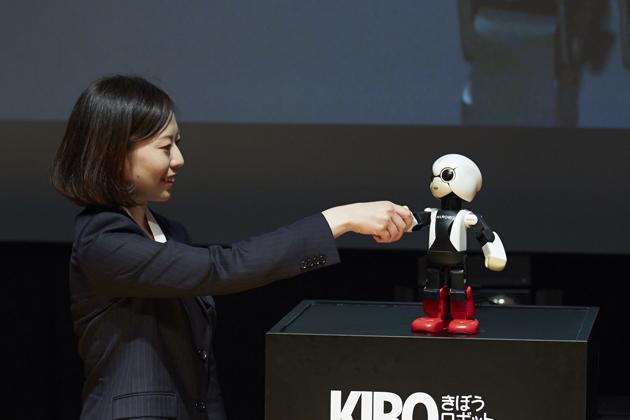 ロボット宇宙飛行士「KIROBO」(キロボ)
