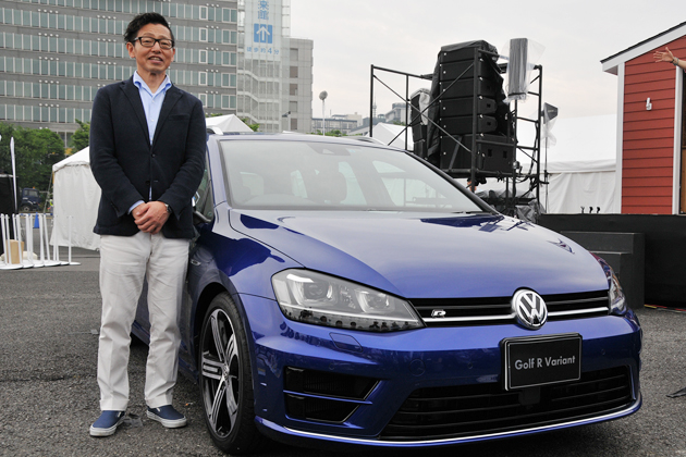 VGJ、過去最高の動員数を記録したイベントで新型車「ゴルフRヴァリアント」を発表