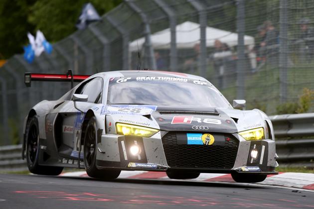 新型Audi R8 LMS GT3/ニュルブルクリンク24時間耐久レース(2015)