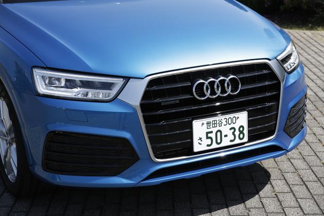 アウディ 新型「Q3」2.0TFSI quattro 180PS[2015年マイナーチェンジ] 試乗レポート/今井優杏