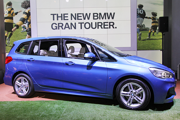 BMW 新型2シリーズ グランツアラー製品発表記者会見