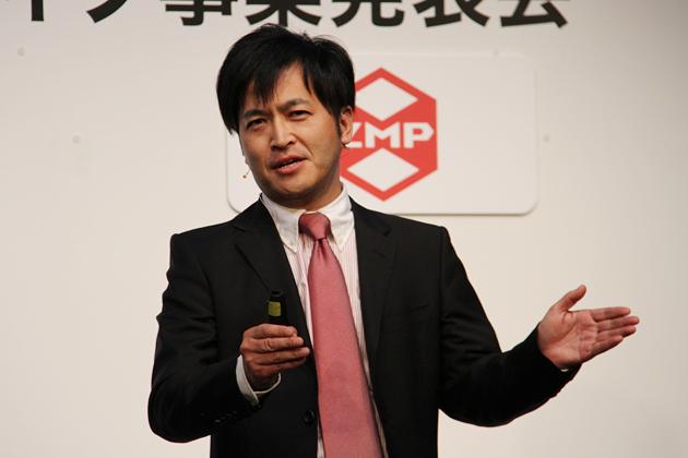 株式会社ZMP 代表取締役社長 谷口 恒氏