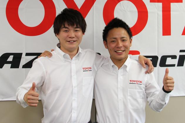 新井大輝選手・勝田貴元選手 【TOYOTA GAZOO Racingチャレンジプログラム育成ドライバー】
