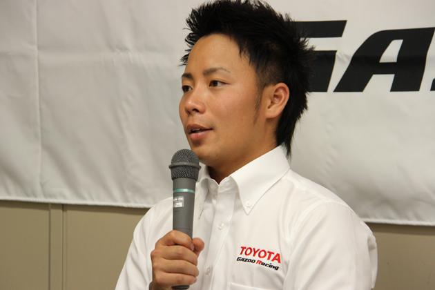 勝田貴元選手【TOYOTA GAZOO Racingチャレンジプログラム育成ドライバー】