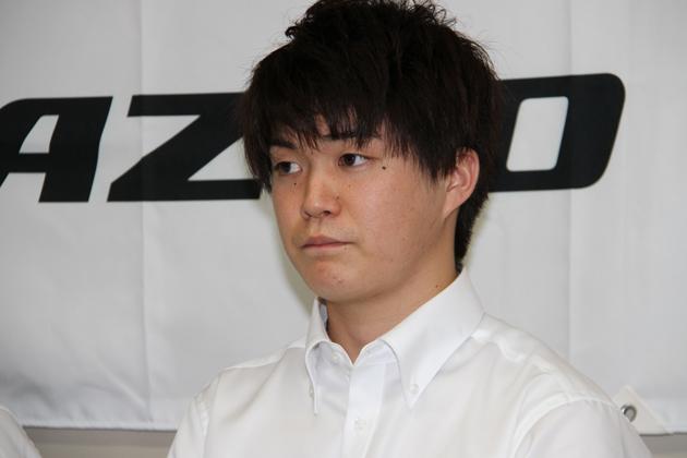 新井大輝選手【TOYOTA GAZOO Racingチャレンジプログラム育成ドライバー】