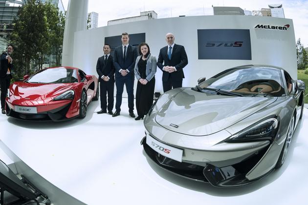 「McLaren 570S Coupe」 「McLaren 540C Coupe」
