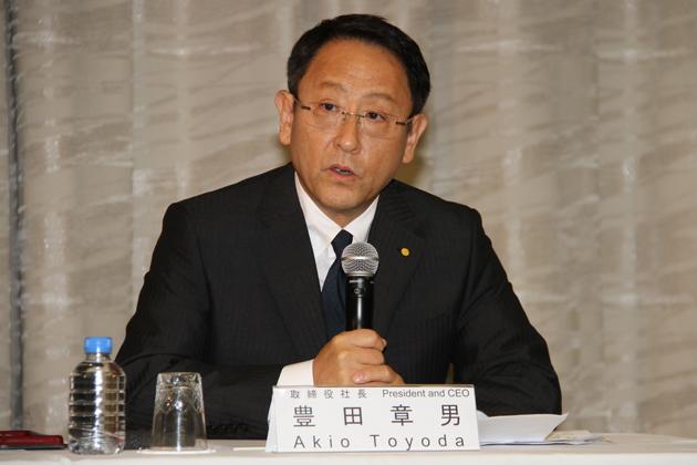 トヨタの豊田章男社長が会見へ 女性役員逮捕で会見