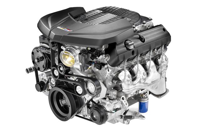 スーパーチャージド6.2リッターV8エンジン