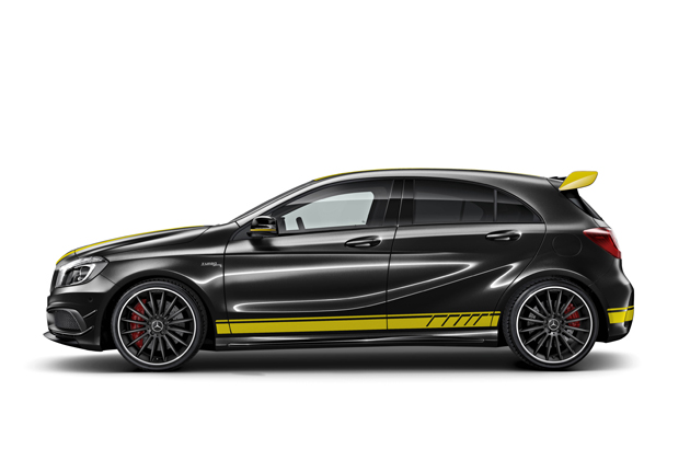 「Mercedes-AMG A 45 4MATIC Yellow Color Line」