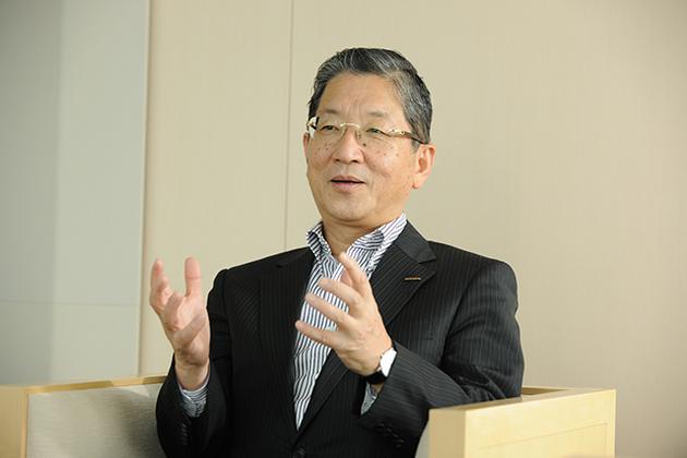 日産自動車株式会社 代表取締役副会長 志賀 俊之氏