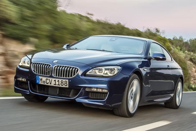 BMW 新型6シリーズ クーペ