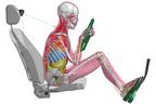 """トヨタ、バーチャル人体に""""筋肉モデル""""を追加 ~身構えや脱力状態を模擬可能に~"""