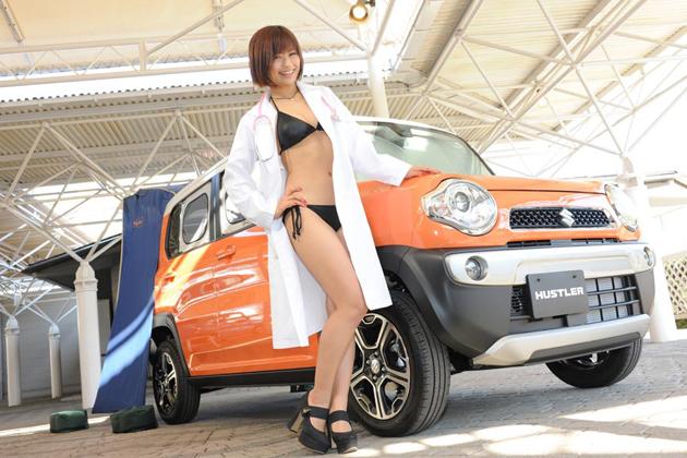 【女医CAR】安枝瞳×スズキ ハスラー