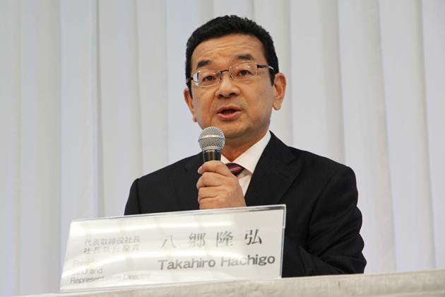 本田技研工業株式会社 代表取締役社長 社長執行役員 八郷隆弘氏