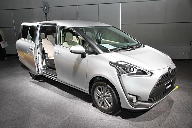 トヨタ 新型シエンタ発表会