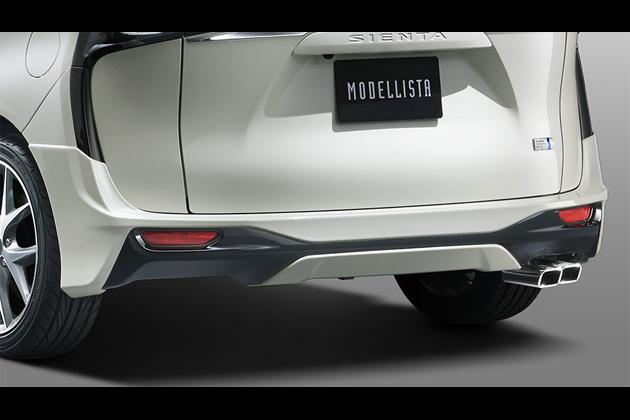 「トヨタ新型シエンタ」MODELLISTAエアロキット