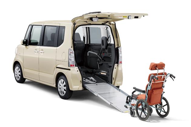 N-BOX + 車いす仕様車 特別仕様車 SSパッケージ オプション装着車