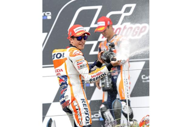 表彰式・シャンパンファイト【MotoGP 第9戦ドイツGP】決勝