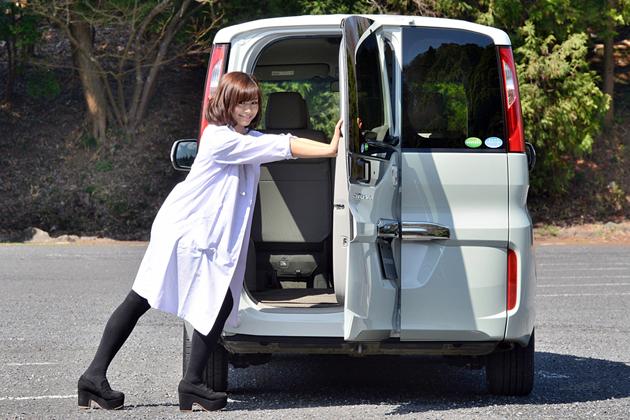 ホンダ新型「ステップワゴン」×安枝瞳