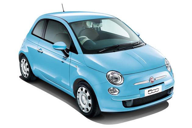 Fiat 500 Super Pop Topo(ボディカラー:ブルー  ヴォラーレ)