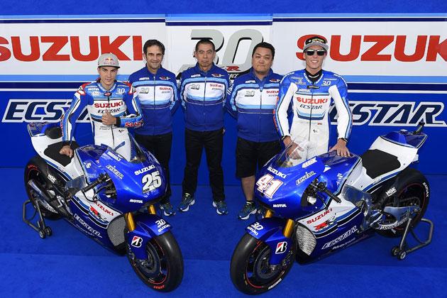 MotoGP参戦マシン「GSX‐RR 30周年記念カラー」