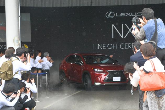 レクサスNXを生産するトヨタ九州宮田工場