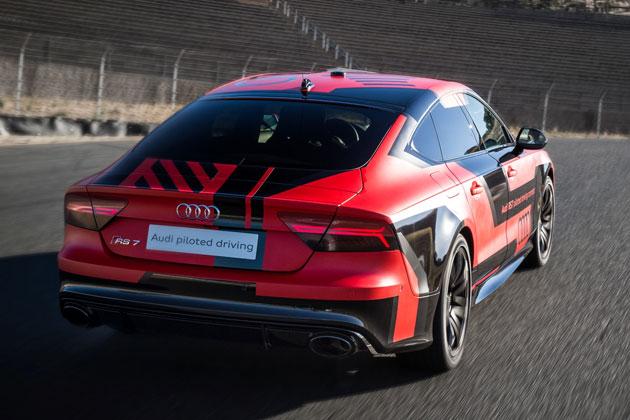 Audi RS 7自動運転コンセプトカー