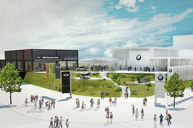 BMW/MINIのブランド体験型/販売新拠点