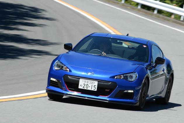 STIコンプリートカーモデル 試乗レポート スバル「BRZ tS 2015モデル/レヴォーグ STIパッケージ装着車」/山本シンヤ