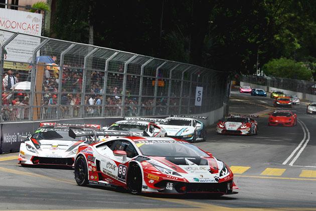 「ランボルギーニ・ブランパン・スーパートロフェオ・アジアシリーズ第3戦」史上初のクアラルンプール・シティ・グランプリ