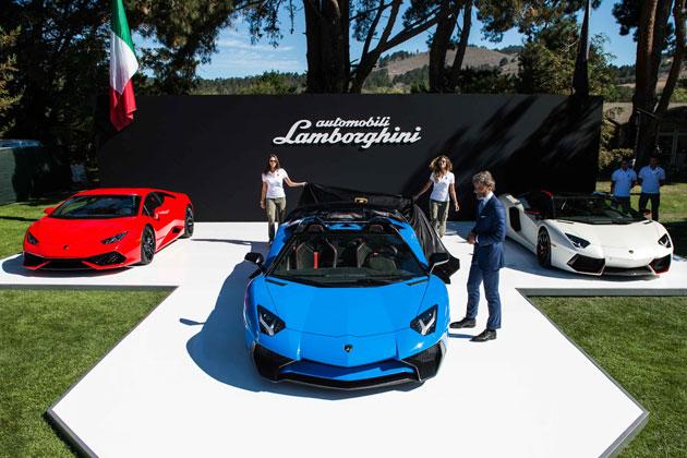 ランボルギーニ「アヴェンタドール LP 750-4 スーパーヴェローチェ・ロードスター」