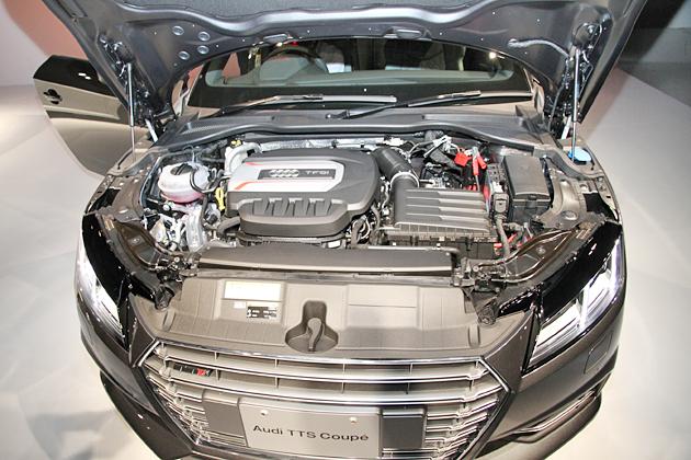 アウディ 新型TTS coupe