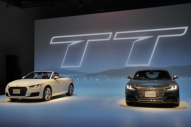 アウディ 新型TT発表会