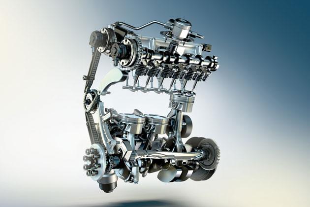 新開発 1.5リッター直列3気筒BMWツインパワー・ターボ・ガソリン・エンジン